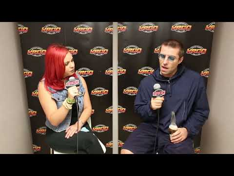 Liam Gallagher interview at Cal Jam, October 7, 2017
