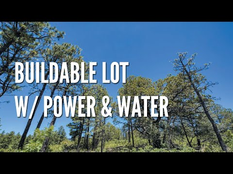 New Mexico Land For Sale: Half Acre Lot w/ Power & Water In Timberon, NM – Only $2,500