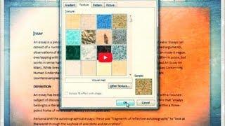 كيفية تغيير لون خلفية الصفحة في Word