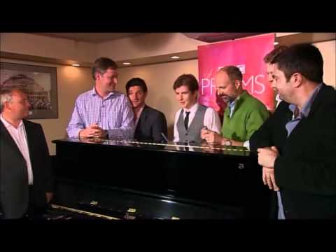 How to be a King's Singer --- Gareth Malone auditions for the King's Singers
