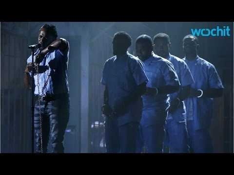 Kendrick Lamar Debuts New Song in Controversial Grammy Performance