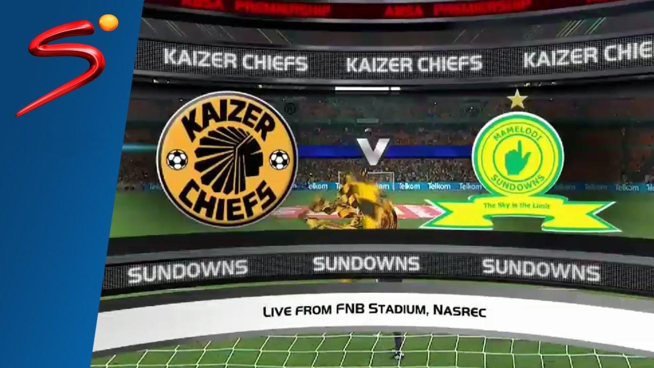 Absa Premiership 2016 17 Kaizer Chiefs Vs Mamelodi Sundowns Youtube