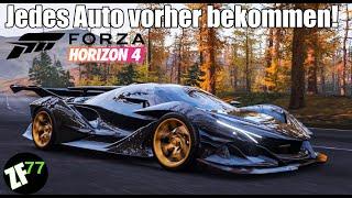Forza Horizon 4 - So bekommst du jedes Auto vor Release!