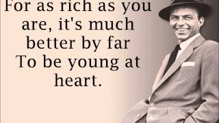 Frank Sinatra- Young at Heart Lyrics