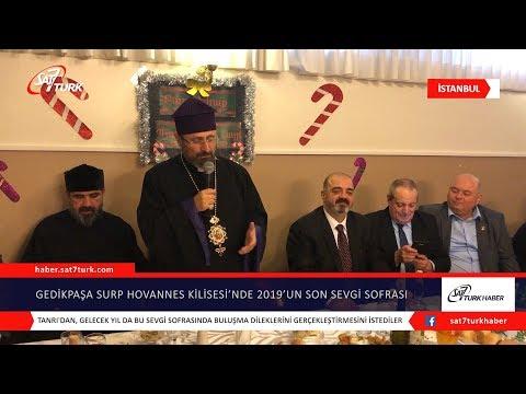Gedikpaşa Surp Hovannes Ermeni Apostolik Kilisesi'nde 2019'un Son Sevgi Sofrası | 03.01.2020