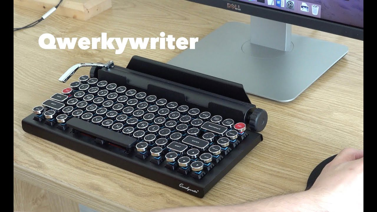 Qwerkywriter, Typewriter Inspired Mechanical Keyboard ...
