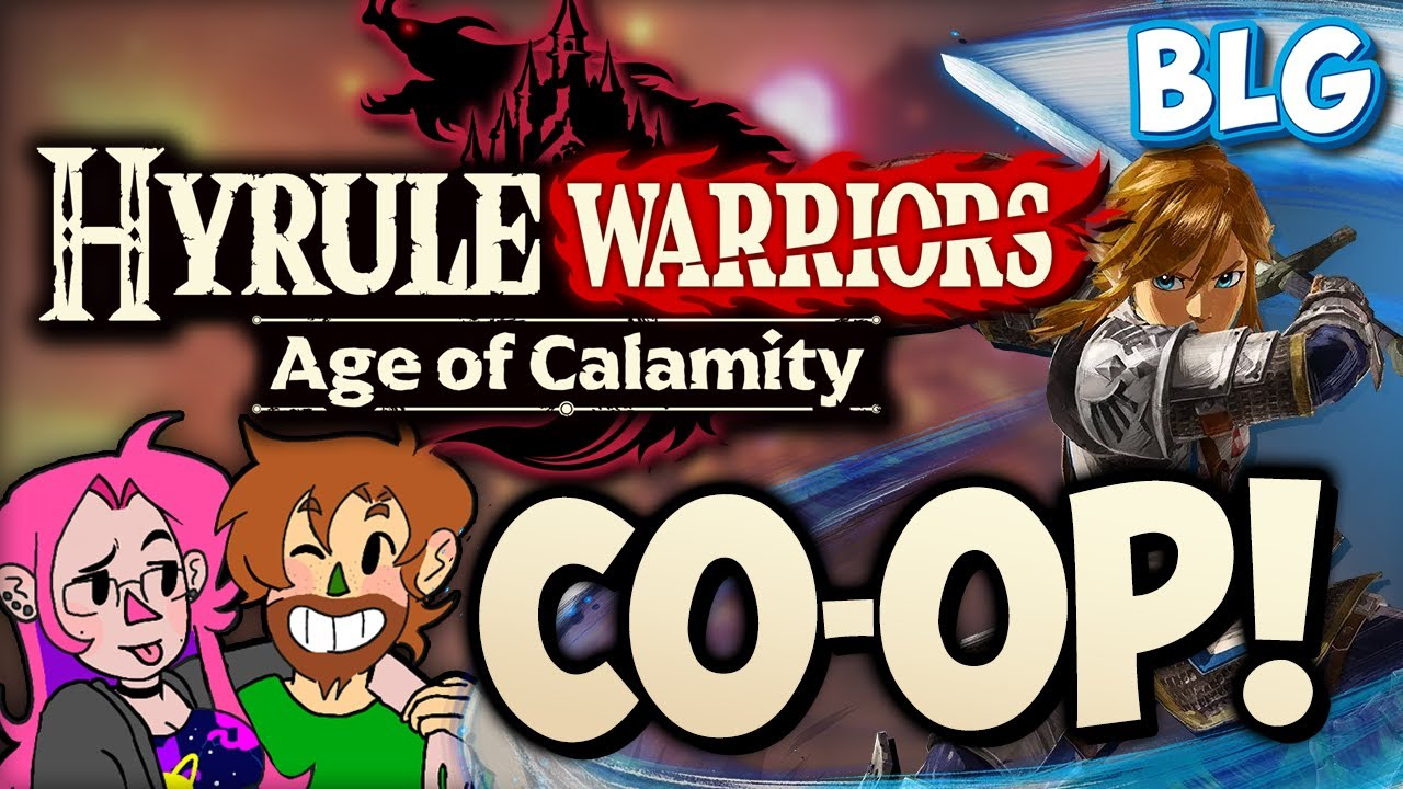 Lets Play Hyrule Warriors Age Of Calamity Co Op Gameplay Youtube
