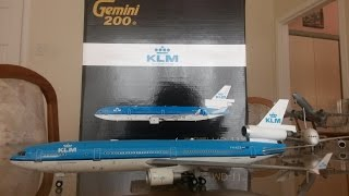 "Gemini Jets 1:200 KLM MD-11 ""Last Flight"" Unboxing and Review"