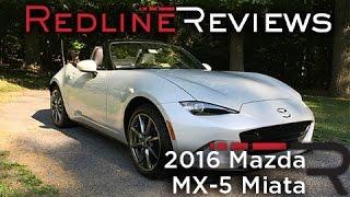 2016 Mazda MX-5 Miata – Redline: Review