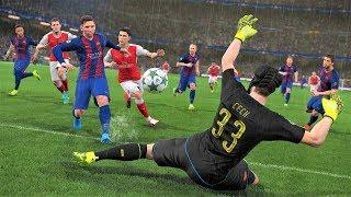 ВПЕРВЫЕ ИГРАЮ в PES 2018 ⚽ Pro Evolution Soccer 2018