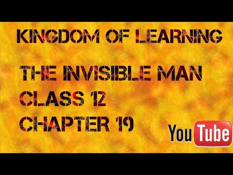 THE INVISIBLE MAN|CHAPTER 19