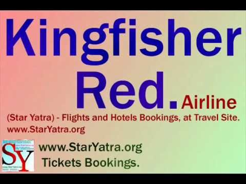 Kingfisher Red (Air Lines)  -  Star Yatra - (www.StarYatra.org™ Official Site.) - StarYatra.org