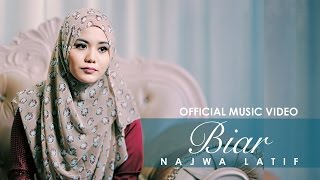Video Najwa Latif - BIAR | ( Official Music Video ) download MP3, 3GP, MP4, WEBM, AVI, FLV November 2017