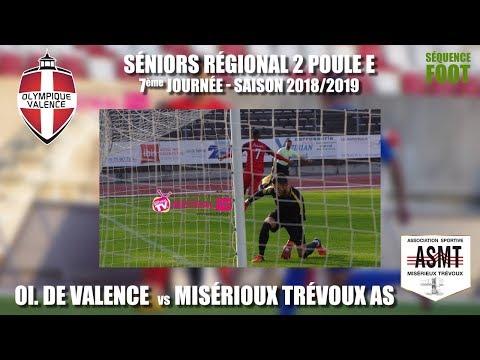 2018 11 04 Séquence Foot   SR2 7ème journée   OV vs Misérieux Trévoux