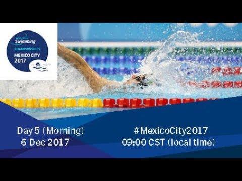 World Para Swimming Championships | Mexico City 2017 | Day 5 Morning