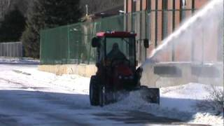 TYM 293 HST Tractor and Snowblower