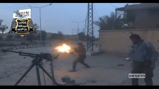 Syrian Rebels Fight With The Syrian Army In The Workers District Of Deir-Ez-Zour | Syria War