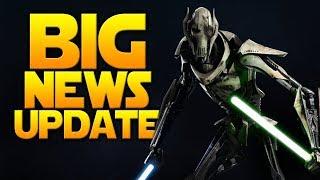 BIG NEWS UPDATE: Battlefront 2 Beyond February! Battle Damaged Grievous Image & More - Battlefront 2