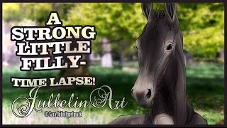 A Strong Little Filly- Time Lapse!