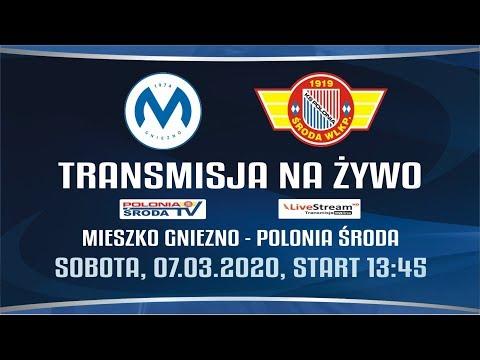 Mieszko Gniezno - Polonia Środa Wlkp. 18 kolejka III ligi 07.03.2020