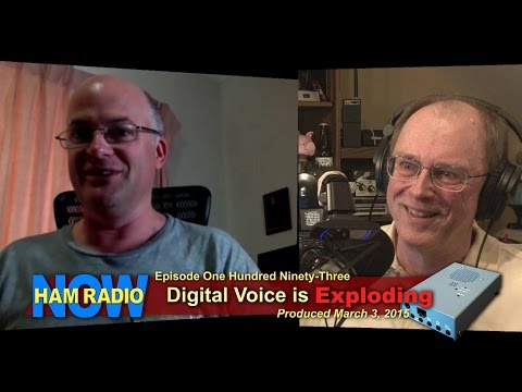 HRN 193: Digital Voice is Exploding (maybe) on HamRadioNow