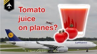 Why is tomato juice so popular on bord an airplane? / explained by CAPTAIN JOE