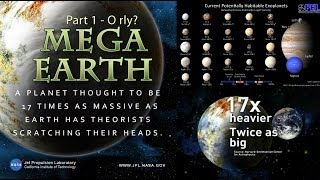 Scientists find a new Mega-Earth so BIG it breaks* Science & Astronomy!