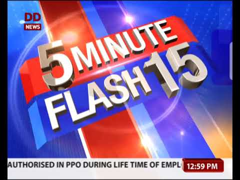 Top 15 Headlines in 5 Minutes @ 12.22 PM
