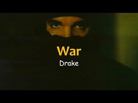 Drake - War (Lyrics)