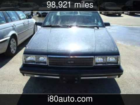 1986 Chevrolet Celebrity *Actual Miles*  Used Cars - OMAHA,Nebraska