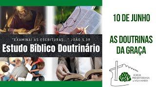 ESTUDO BÍBLICO 10 DE JUNHO