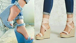 Latest wedge Sandals Collection 2018 | Platform Wedge Heels