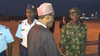 President Muhammadu Buhari Departs For China For Bilateral Talks