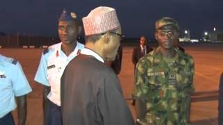 President Muhammadu Buhari Departs For China For Bilateral Talks