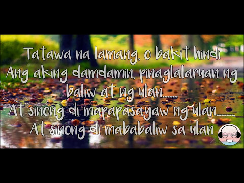 Ulan-Rivermaya (Lyrics)
