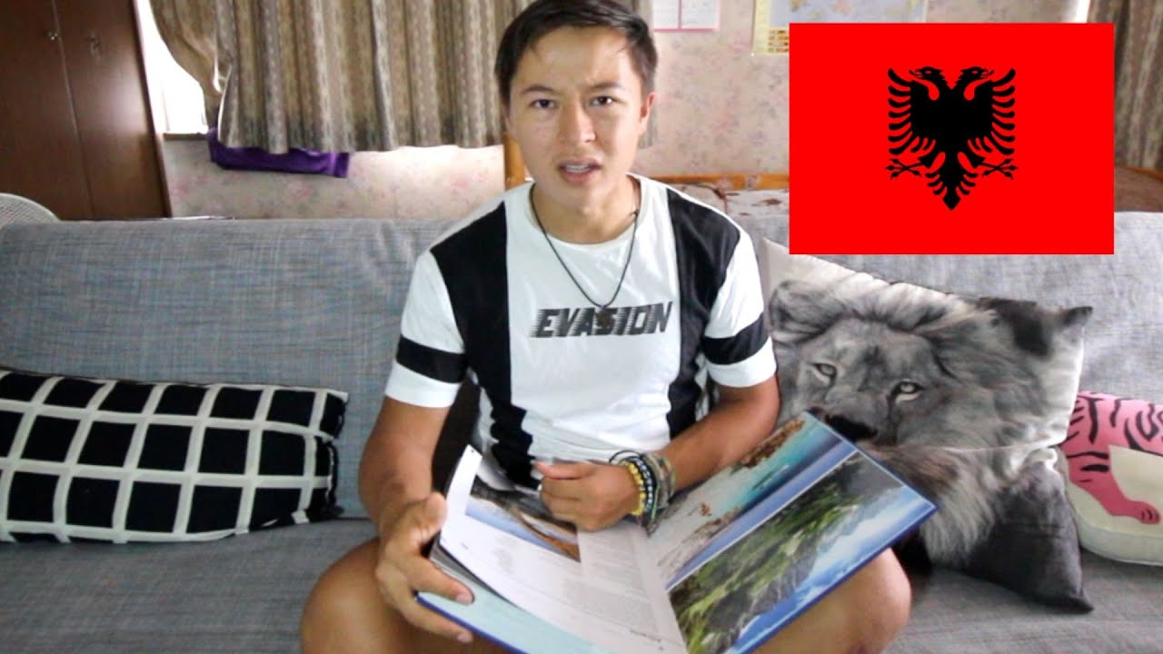 Japanese Reacts to Albania in The Travel Book !
