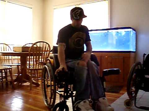 Paraplegic fall and transfer
