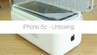iPhone 5c Unboxing (White)