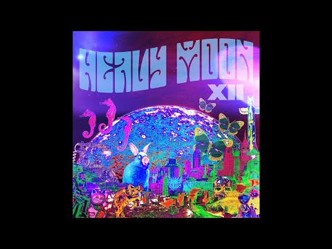 "HEAVY MOON ""12"" (New Full Album) 2018 Progressive/Psychedelic/Space Rock"