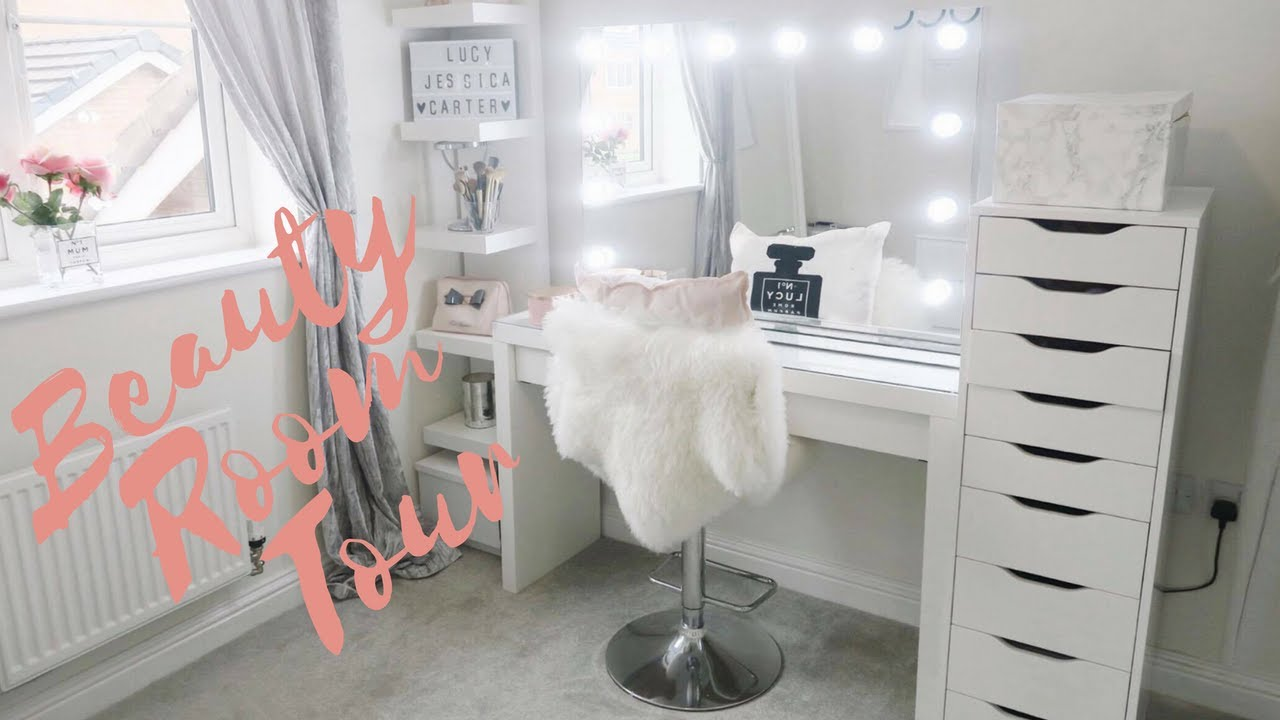 Beauty Room Make Up Room Tour Lucy Jessica Carter