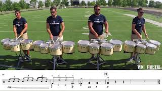 "2018 Blue Stars Tenors - LEARN THE MUSIC to ""The Once and Future Carpenter"""