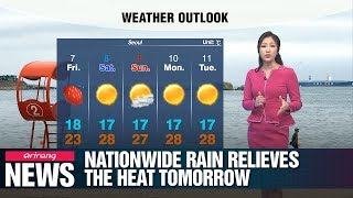Nationwide rain relieves the heat tomorrow _ 060519