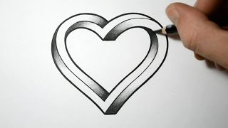 How to Draw an Impossible Heart thumbnail