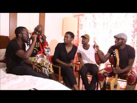 Travel Questions with Sauti Sol (and Singing) in Lagos, Nigeria.