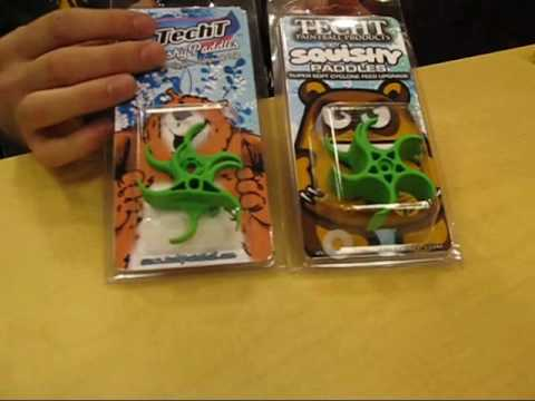 X7 Squishy Paddles : Techt Cyclone New Double-Stack Squishy Paddles - YouTube