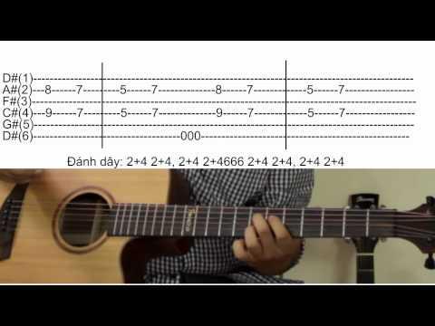 [Phần 1] [Guitar]Hướng dẫn chơi: Mắt đen - Bức Tường