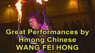 3 HMONG NEWS: Live stage performances of martial art by Wang Fei Hong.