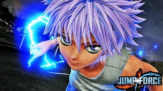 JUMP FORCE KILLUA & KURAPIKA HD SCREENSHOTS! Jump Force HunterxHunter Gameplay Screenshots!