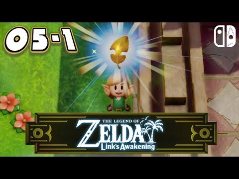 Zelda Link's Awakening SWITCH #05-1 - Les Feuilles D'or - LET'S PLAY FR