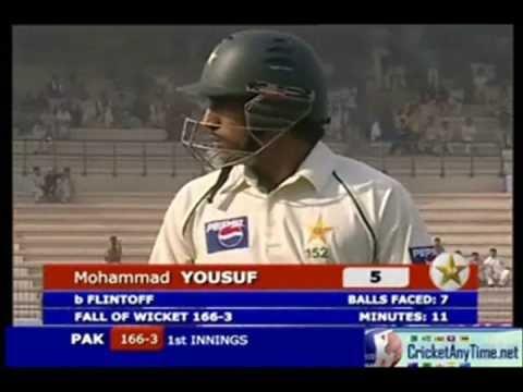 Andrew Flintoff 4-68 Vs Pakistan